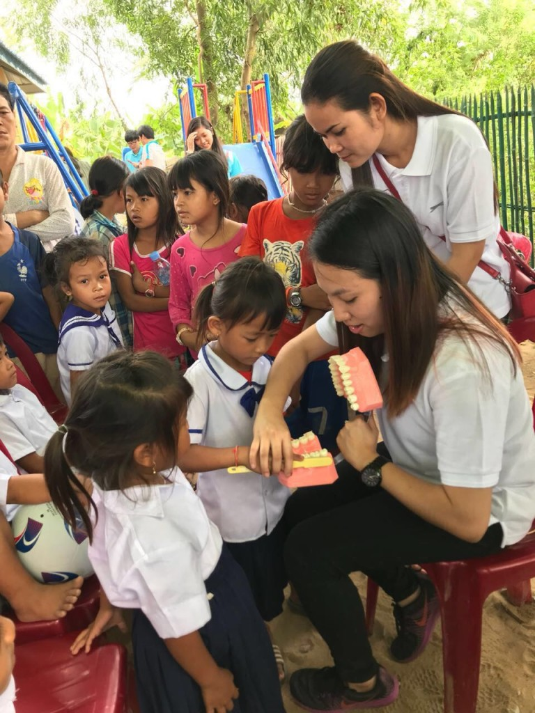 Early childhood development school program_RHB bank & Roomchang Dental Hospital