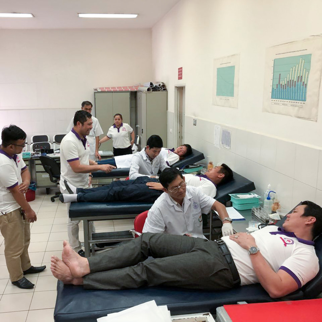 3. Roomchang in the community_Blood donate